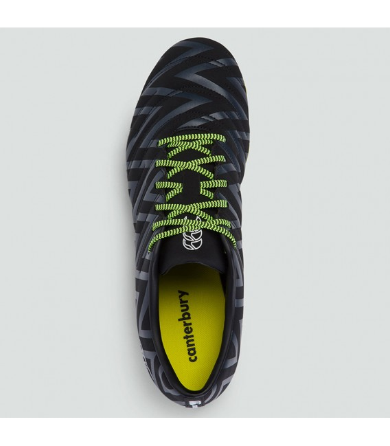Botas rugby Phoenix 2.0 FG negro-amarillo