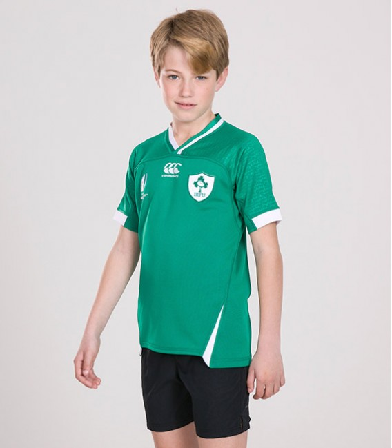 Camiseta rugby junior Irlanda home RWC 2019