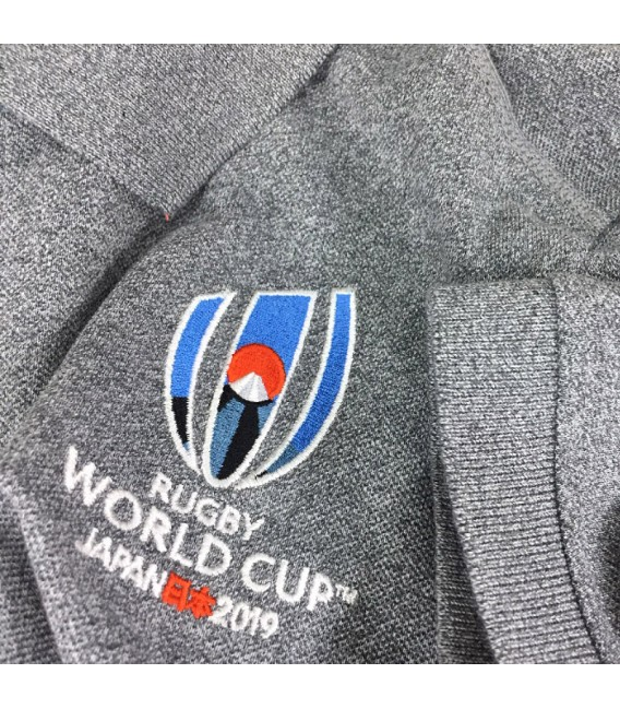 Polo Rugby World Cup 2019 pique gris