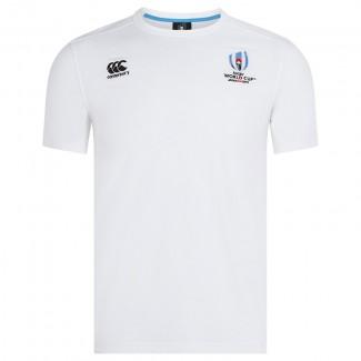 Camiseta Rugby World Cup 2019 cotton blanco