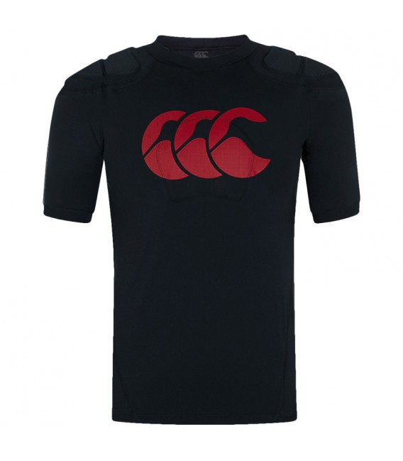 Hombrera Canterbury Vapodri Raze Vest negro-rojo