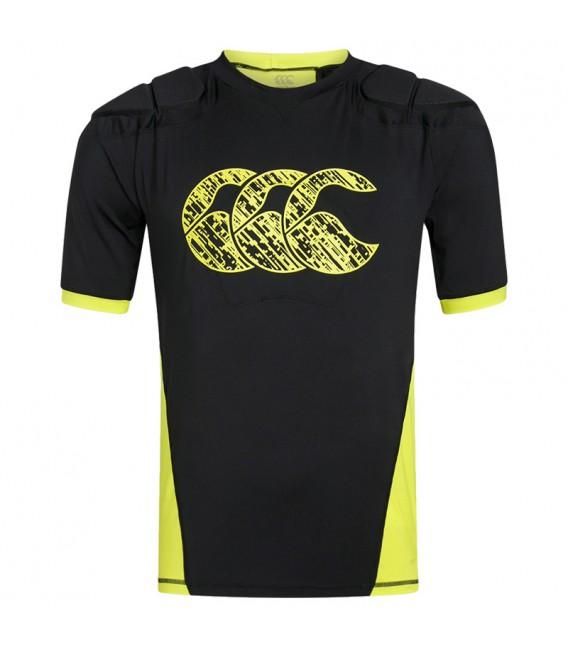Hombrera Canterbury Vapodri Raze Vest negro-amarillo