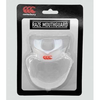Protector bucal senior Raze transparente/blanco