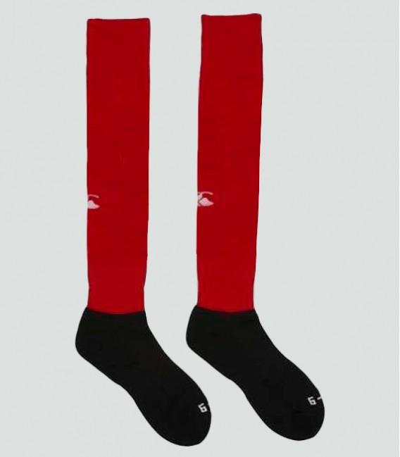 Medias rugby team sock rojo