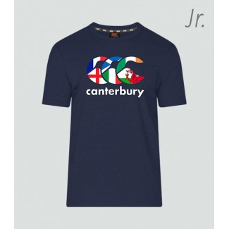 Camiseta junior Seis Naciones navy