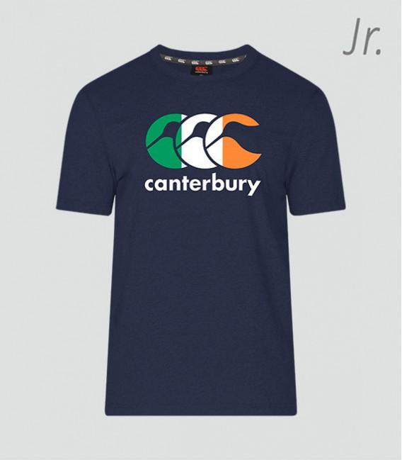 Camiseta junior Irlanda Seis Naciones navy
