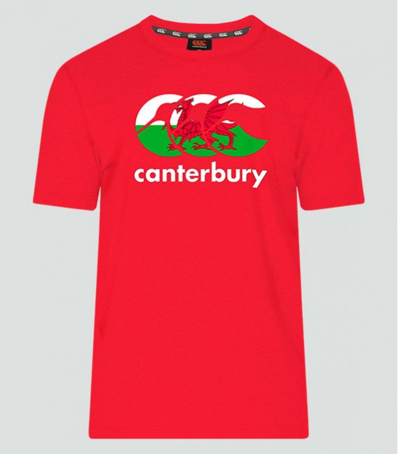 Camiseta Gales Seis Naciones rojo