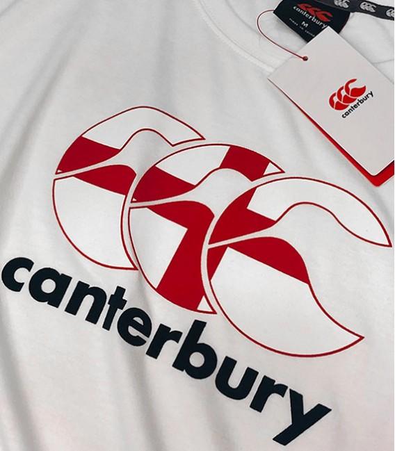 Camiseta Inglaterra Seis Naciones blanco