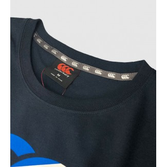 Camiseta Escocia Seis Naciones navy