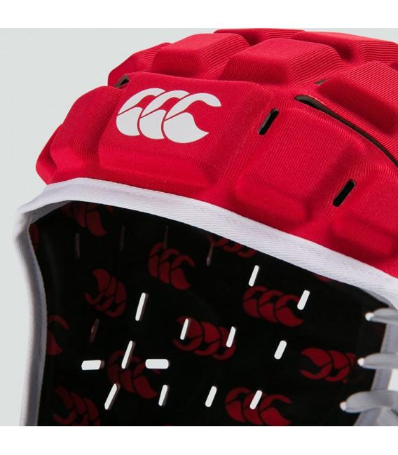 Casco Canterbury Reinforcer rojo