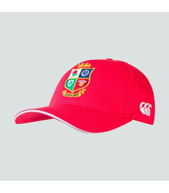 Gorra British & Irish Lions roja
