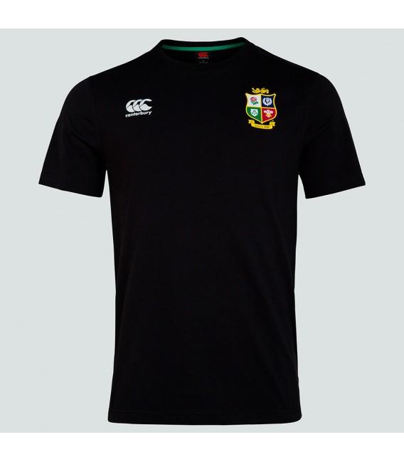 Camiseta British & Irish Lions negra