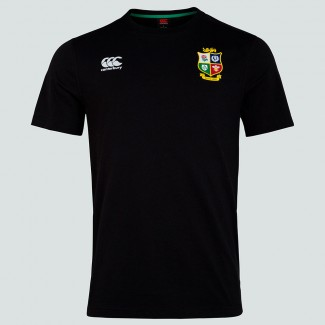 Camiseta British & Irish Lions negra