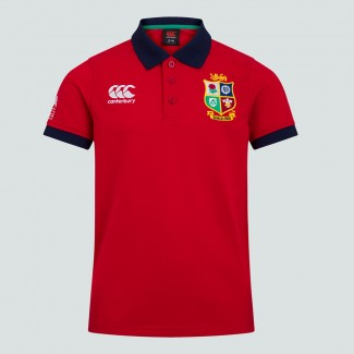 Polo British & Irish Lions rojo