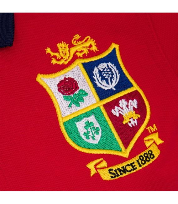 Polo British & Irish Lions rojo