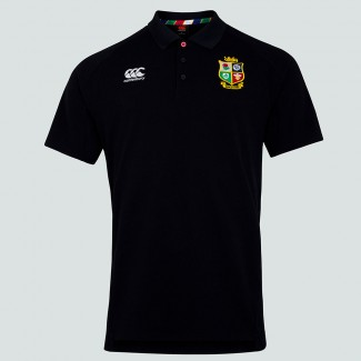 Polo British & Irish Lions negro