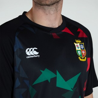 Camiseta técnica British & Irish Lions negra