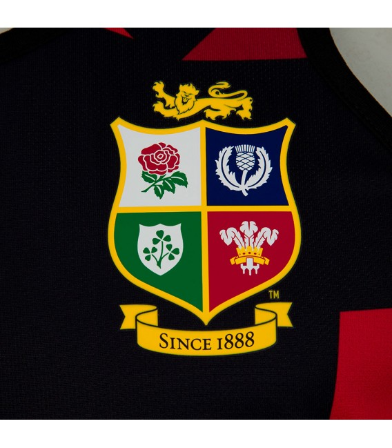 Camiseta tirantes British & Irish Lions negra