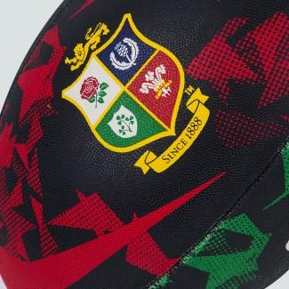 Balón talla 4 British & Irish Lions negro