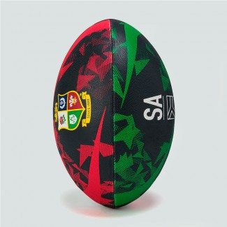 Balón talla 4 British & Irish Lions negro