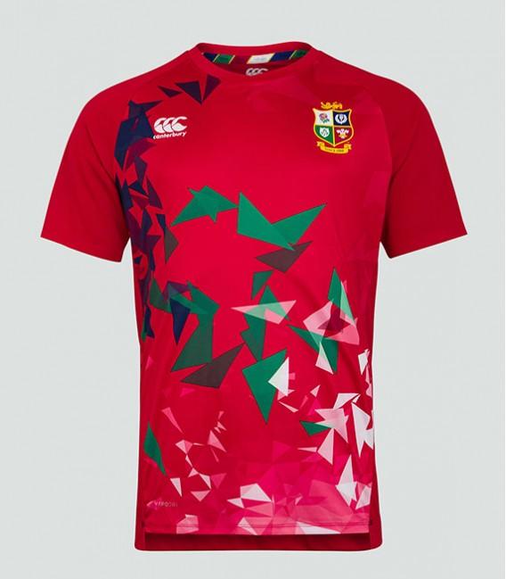 Camiseta técnica British & Irish Lions roja